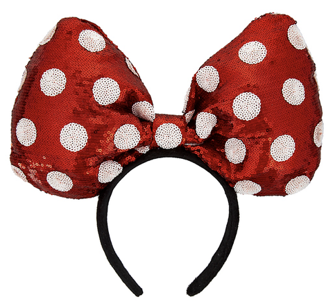Oversized Minnie Mouse Bow Headband