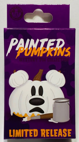Painted Pumpkin Halloween 2020 Limited Release Mystery Disney Pin Pack