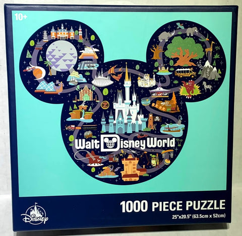 Walt Disney World Park Life 1,000 Piece Disney Puzzle