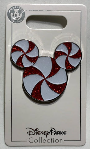 Mickey Mouse Icon Peppermint 2019 Christmas Disney Pin