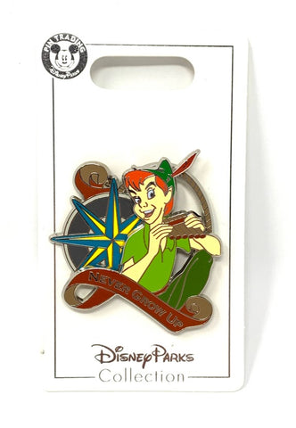 Peter Pan Never Grow Up Disney Pin