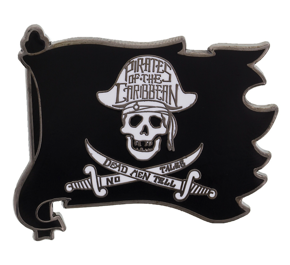 Pirates of the Caribbean Flag Disney Pin