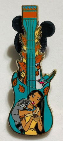 Pocahontas Meeko and Flit Guitar Mystery Disney Pin