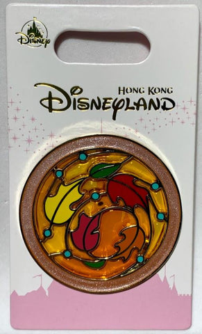 Pocahontas Princess Icon Hong Kong Disneyland Pin