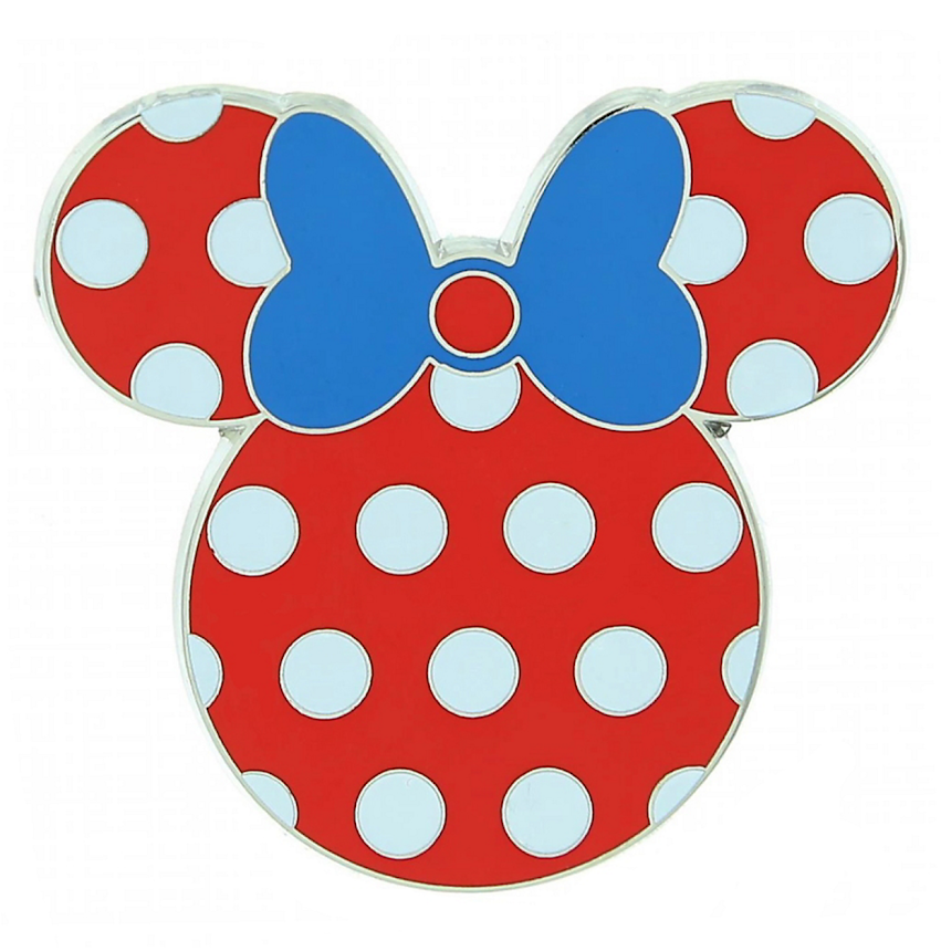 Polka Dot Minnie Mouse Icon Disney Pin