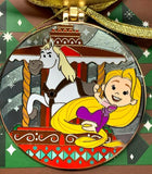 Rapunzel and Maximus Saratoga Springs 2020 Gingerbread Disney Pin