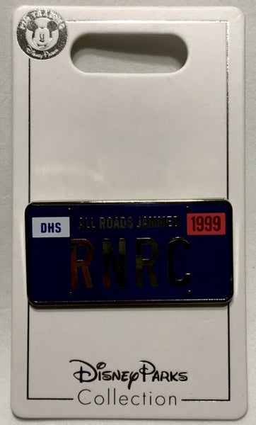 RNRC License Plate Disney Pin