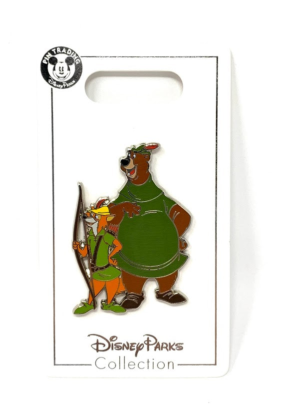 Robin Hood and Little John Disney Pin