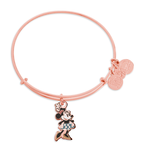 Rose Gold Minnie Mouse Disney Alex & Ani Bracelet