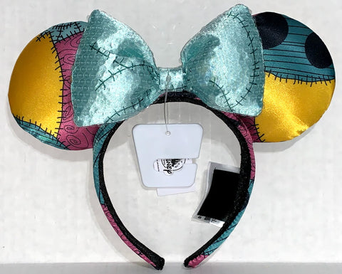 Sally Nightmare Before Christmas Minnie Mouse Ears with Bow