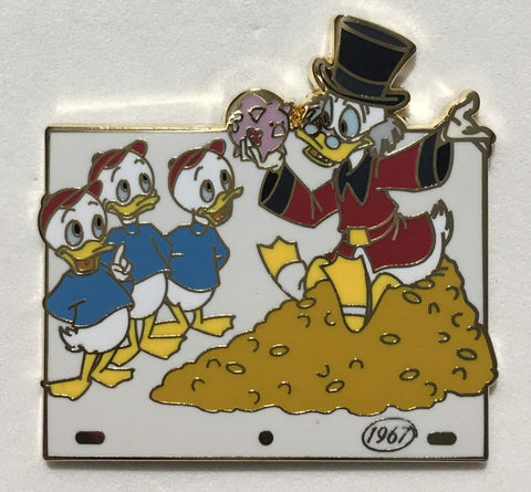 Scrooge McDuck and Money Animation Celebration Mystery Disney Pin