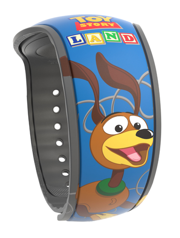 Slinky Dog Toy Story Land Disney Magic Band 2.0