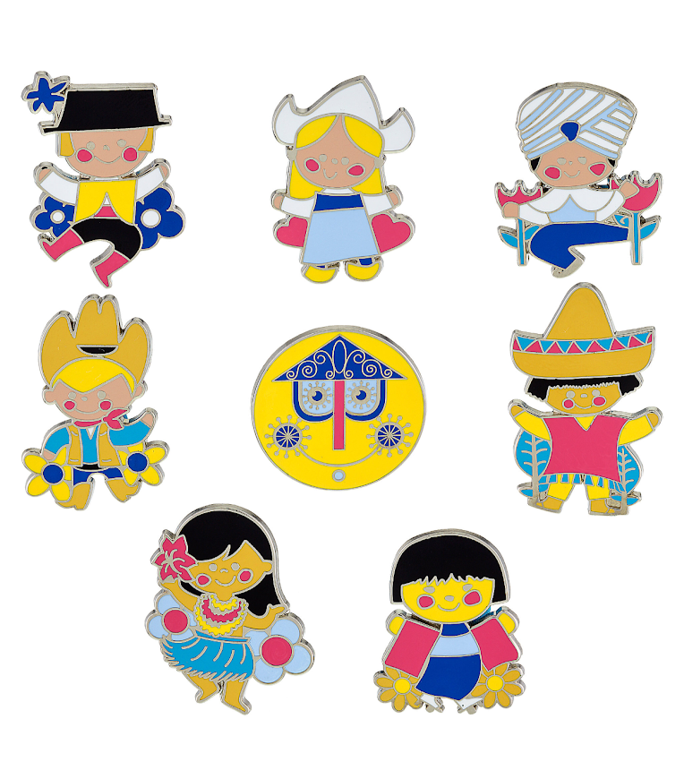 it's a small world Mystery Disney Pins