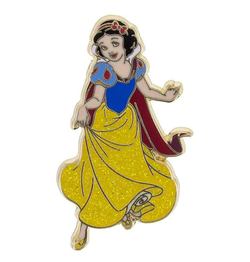 Snow White Glitter Dress Disney Pin