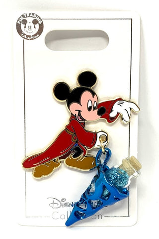 Sorcerer Mickey Mouse with Hat Disney Pin