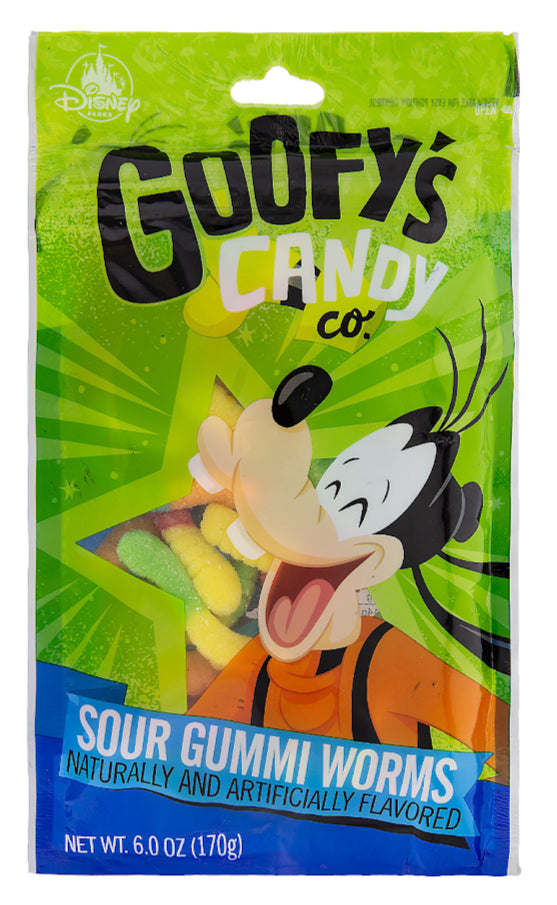 Goofy's Candy Co. Sour Gummi Worms Disney Parks