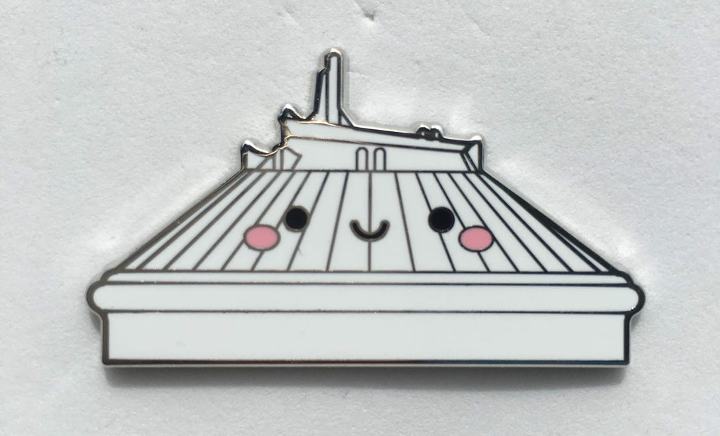 Space Mountain Kingdom of Cute Mystery Disney Pin