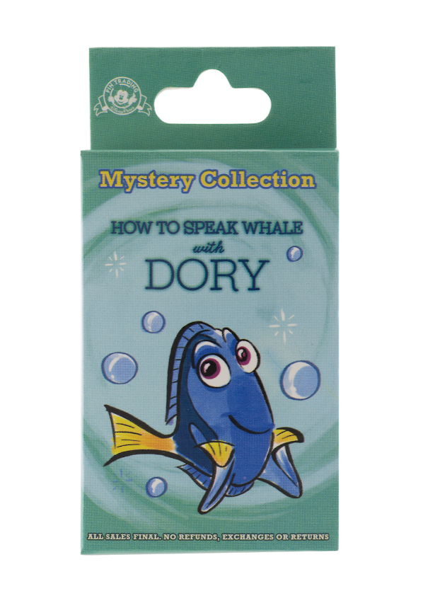 How to Speak Whale with Dory Mystery Disney Pins