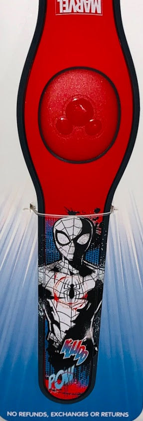 Spider-Man Comic Book Style Art Disney Parks MagicBand 2.0