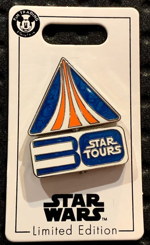 Star Wars Star Tours 30th Anniversary Disney Pin