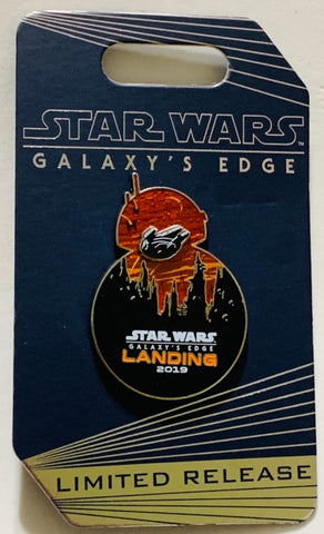 Star Wars Galaxy's Edge Landing 2019 Disney Pin