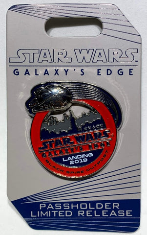 Star Wars Galaxy's Edge Landing 2019 Passholder Disney Pin