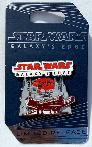 Star Wars Galaxy's Edge Opening Day Disney Pin