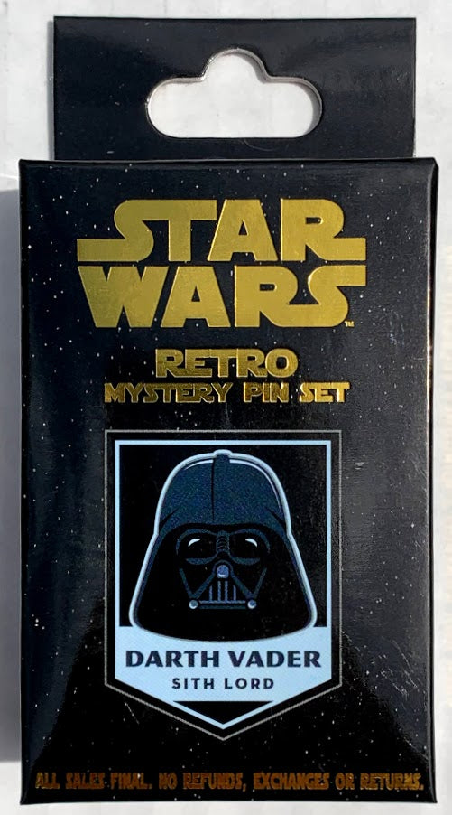 Star Wars Retro Mystery Disney Pin Pack