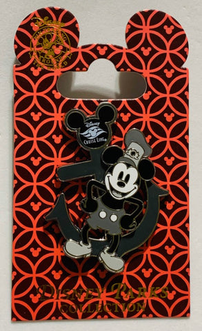 Steamboat Willie Mickey Mouse Disney Cruise Line Disney Pin