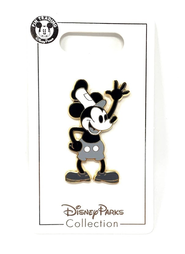 Steamboat Willie Mickey Mouse Disney Pin