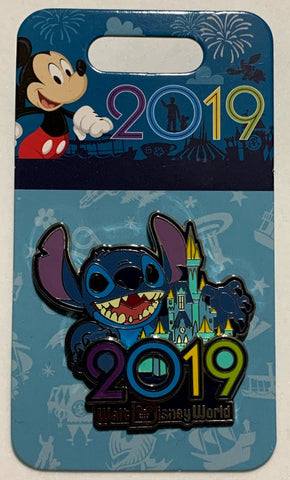 Stitch Walt Disney World 2019 Disney Pin