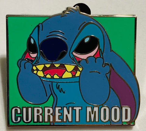 Stitch Current Mood Mystery Disney Pin