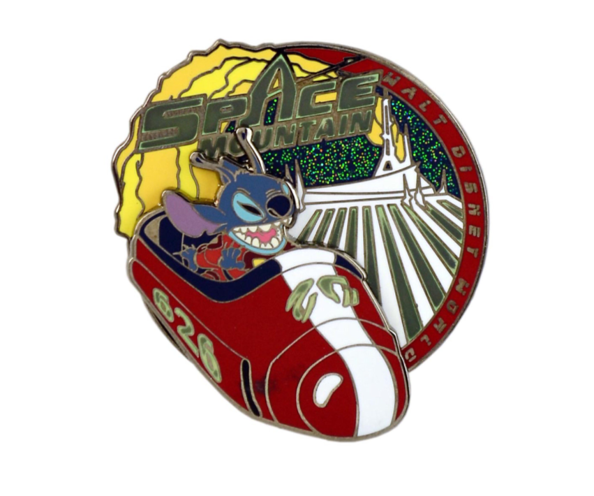 Stitch Space Mountain Disney Pin