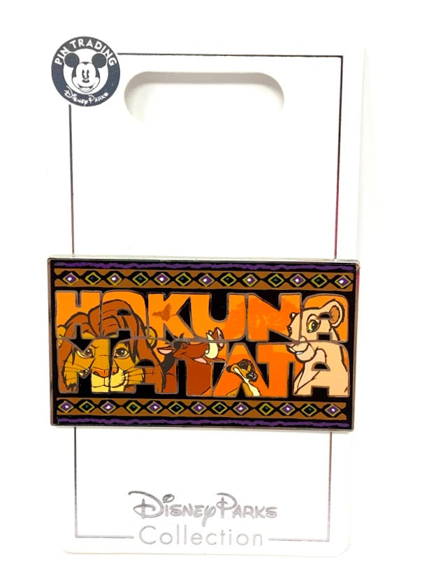 Simba Nala Timon and Pumbaa Hakuna Matata The Lion King Disney Pin