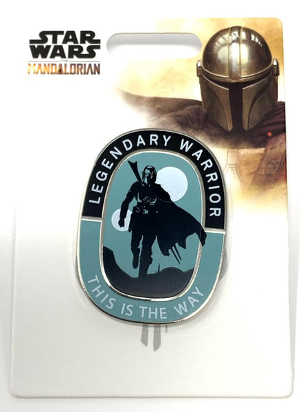 The Mandalorian Legendary Warrior This is the Way Star Wars Disney Pin