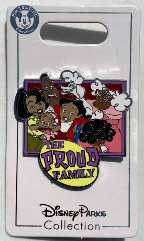 The Proud Family Disney Pin