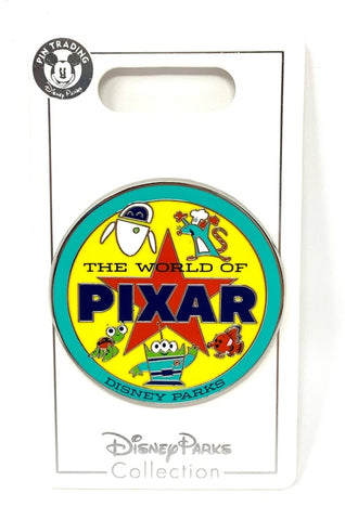 The World of Pixar Disney Pin