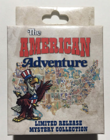 The American Adventure Mystery Disney Pins