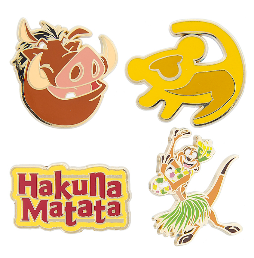 The Lion King Flair Disney Pin Set