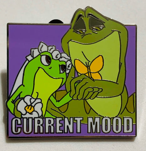 Tiana and Naveen Current Mood Mystery Disney Pin