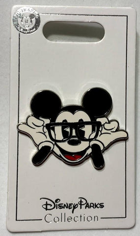 Timeless Mickey Mouse with Glasses Disney Pin