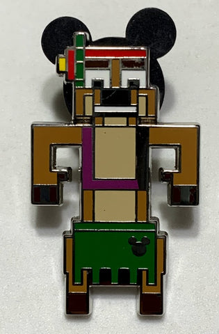 Timon 8-Bit Characters 2019 Hidden Mickey Disney Pin