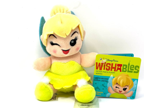 Tinker Bell Peter Pan's Flight Attraction Series Disney Wishables Plush