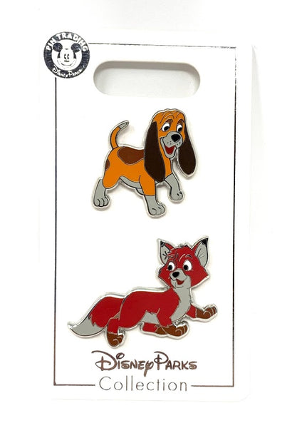 Tod and Copper The Fox and the Hound Disney Pin Set