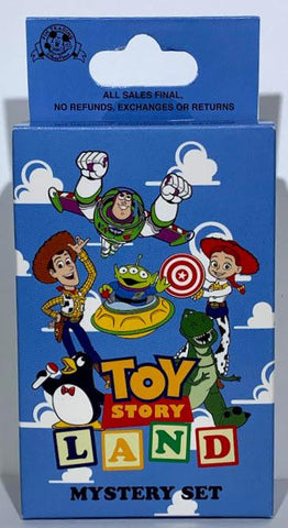 Toy Story Land Mystery Disney Pin Pack