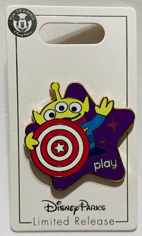 Toy Story Midway Mania Alien Disney Play App Pin