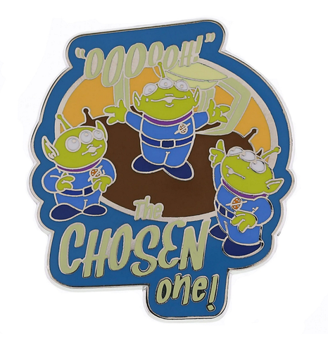 Toy Story Aliens Chosen One Disney Pin