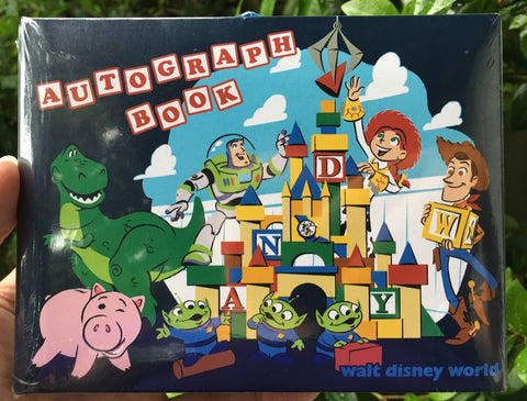 Toy Story Pixar Walt Disney World Autograph Book