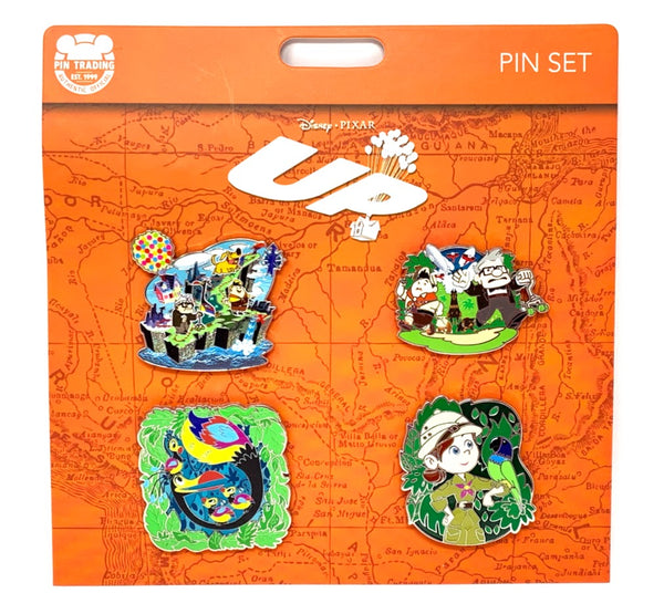 Up Characters Booster Disney Pin Set