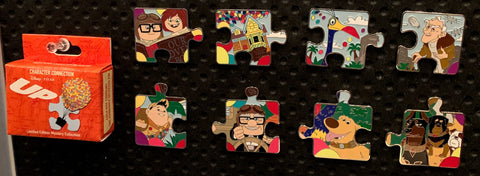 Up Puzzle Piece Mystery Disney Pin